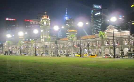 Kuala Lumpur by night 1