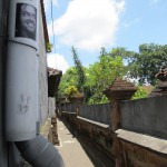 In the little streets of Ubud, Bali