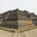 Borobudur outside