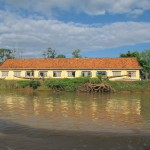 School on the dirty river