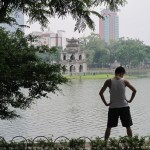 Morning exercise in Hanoi 1