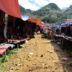 Market in the mountains